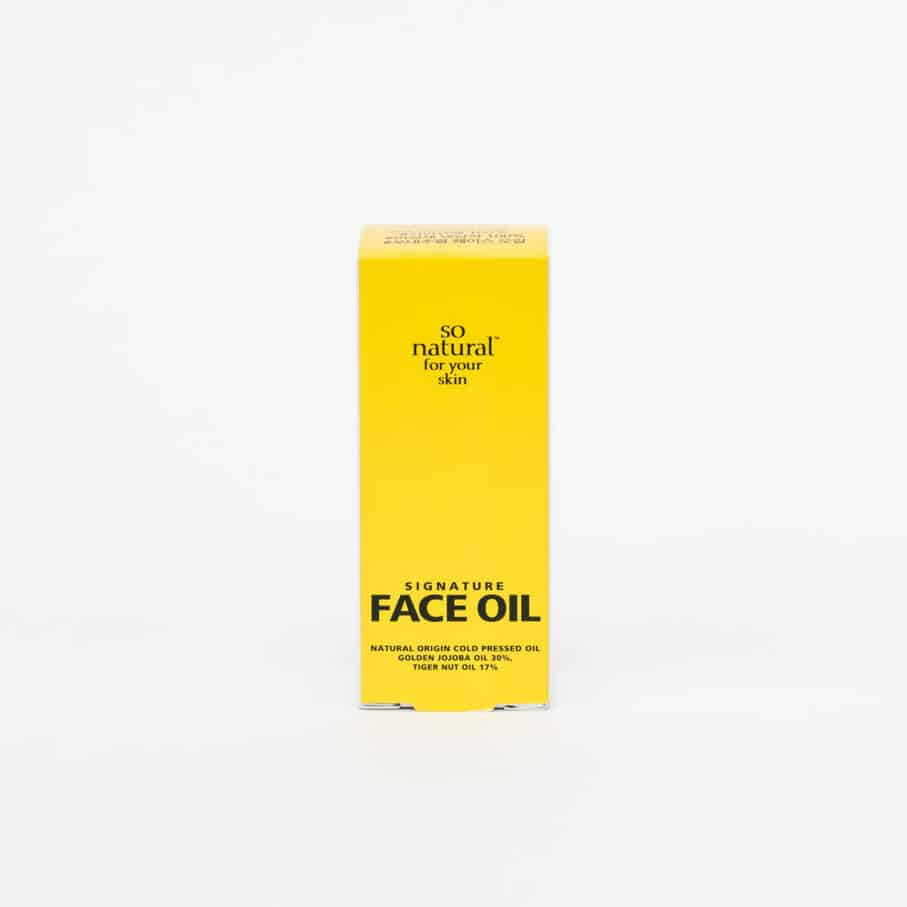 Signature Face Oil 1