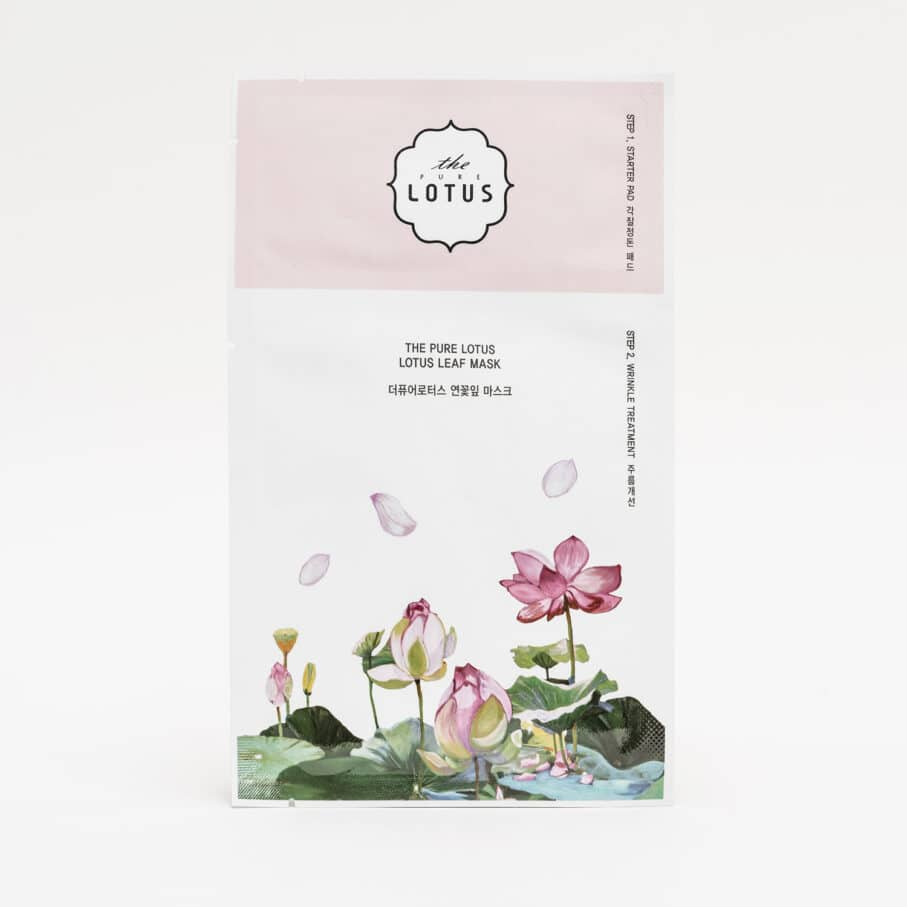 The Lotus Lotus Leaf Mask Wrinkle Treatment