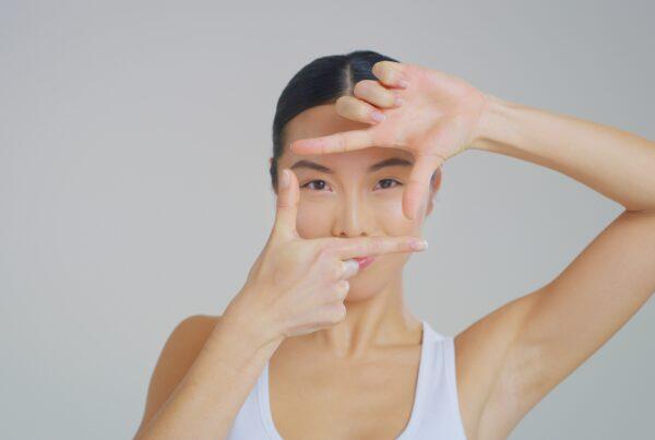 Typische K-Beauty gebaren