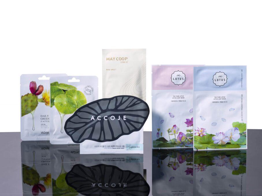 BE-OO-KAY sheetmask verwenpakket voor alle huidtypes