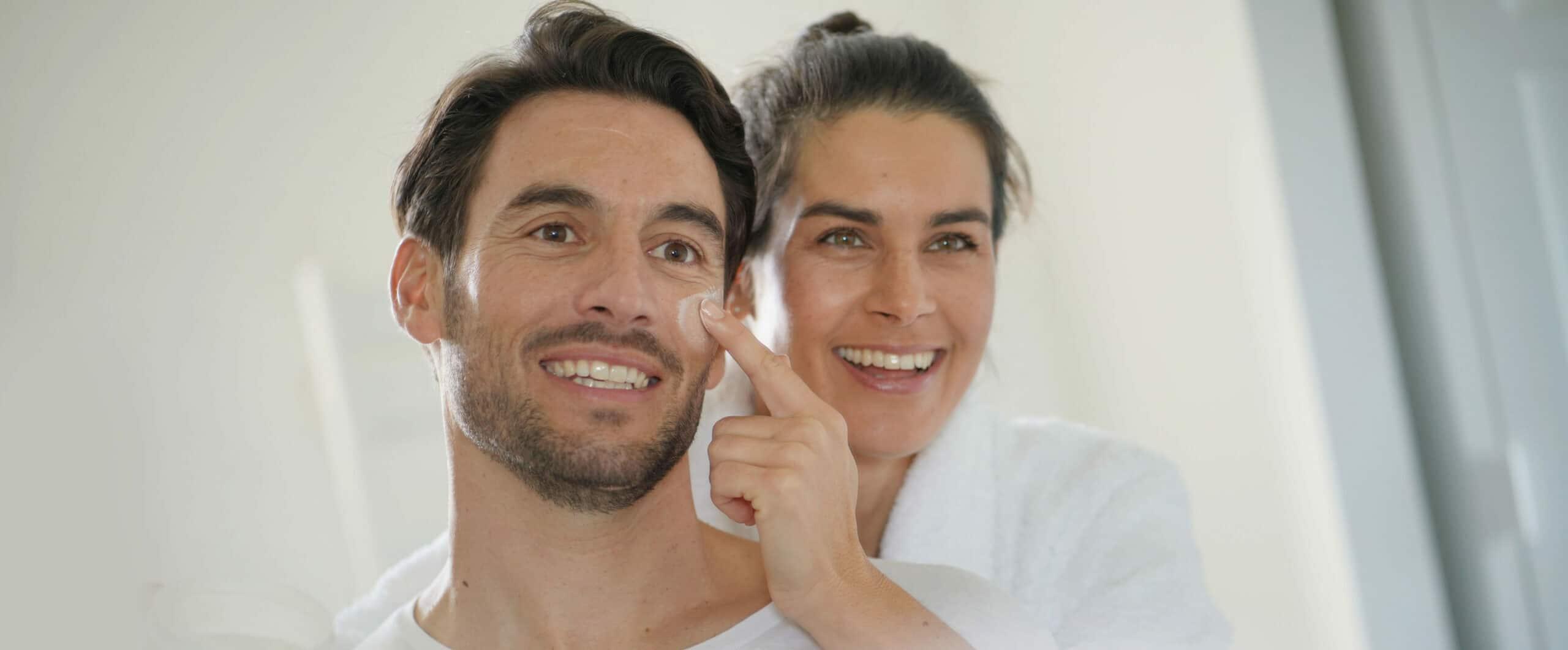 Huidverzorging delen, het toppunt van romantiek